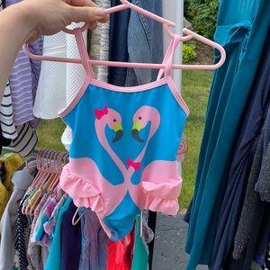 2T one piece bathing suit Wonder nation